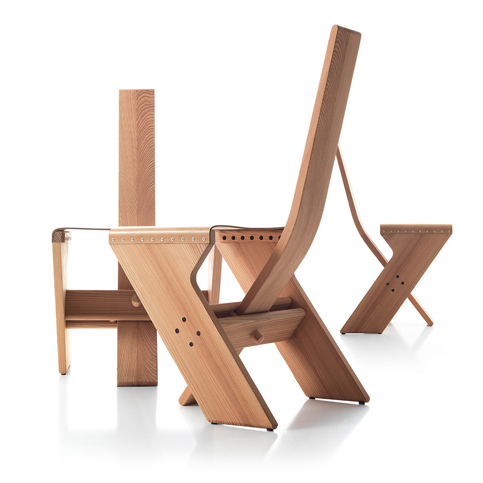 Canone Chair without armrest