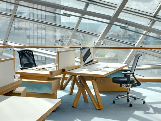 ID Mesh Office Chair featured in an office settting with other furniture