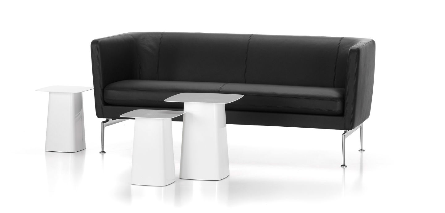 Black Suita Club Sofa featured with other furniture