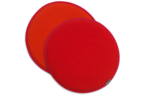 Orange and Red Seat Cushions