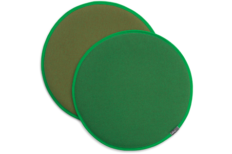 Olive Green and Forest Green Seat Cushions