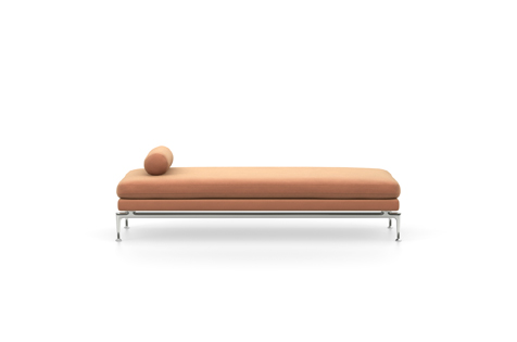 Tacao Brown Suita Daybed Philippines with Metal Legs