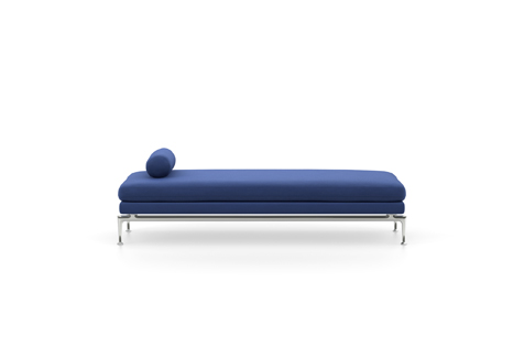 Ocean Blue Suita Daybed with Metal Legs