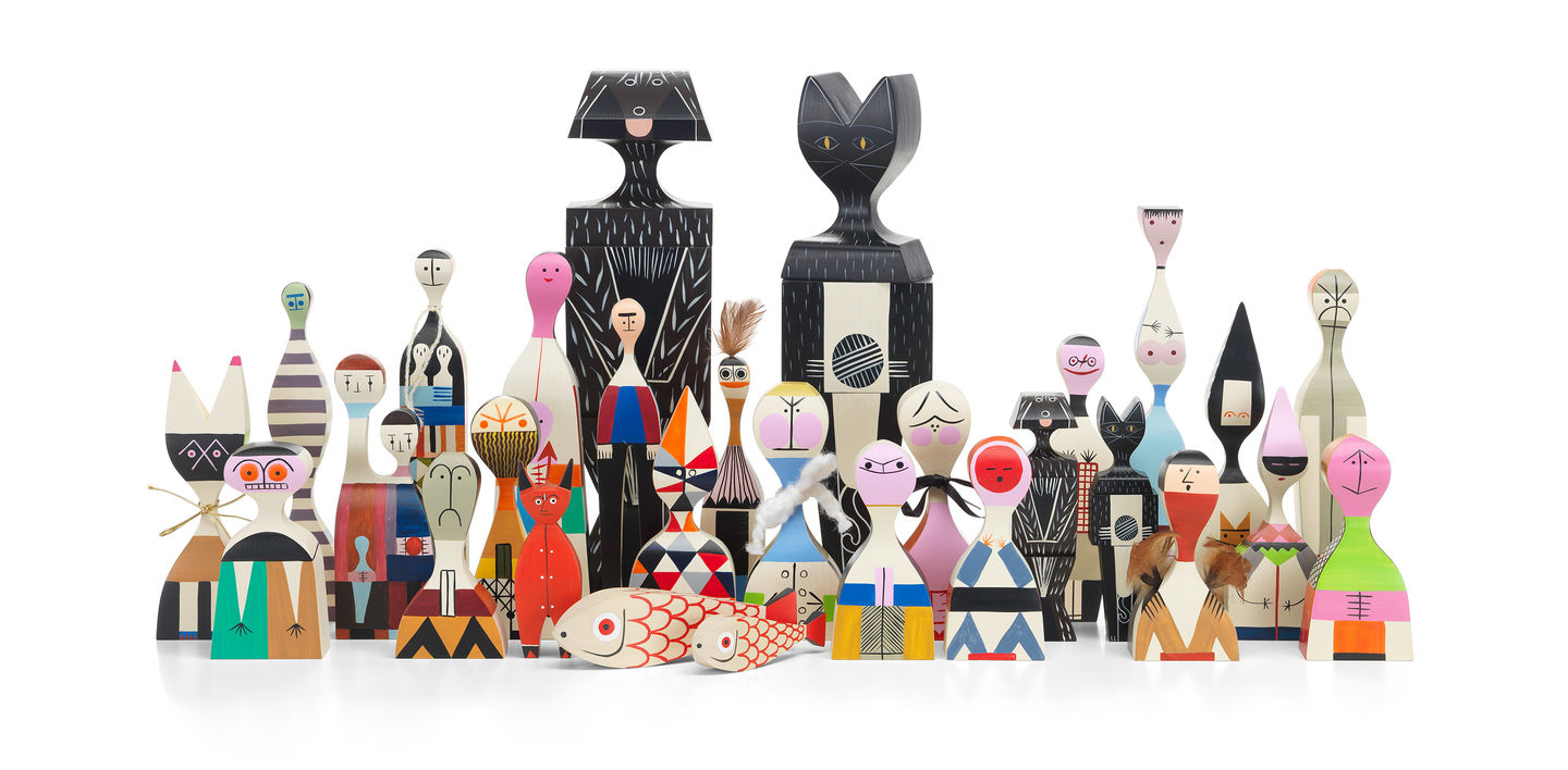 Full collection of Wooden Dolls
