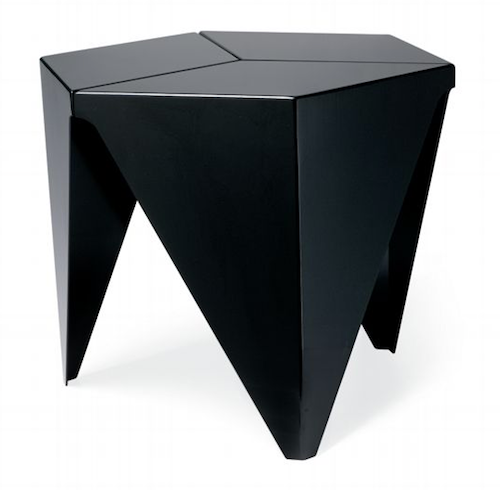 Black Hexagonal Vitra Prismatic Table