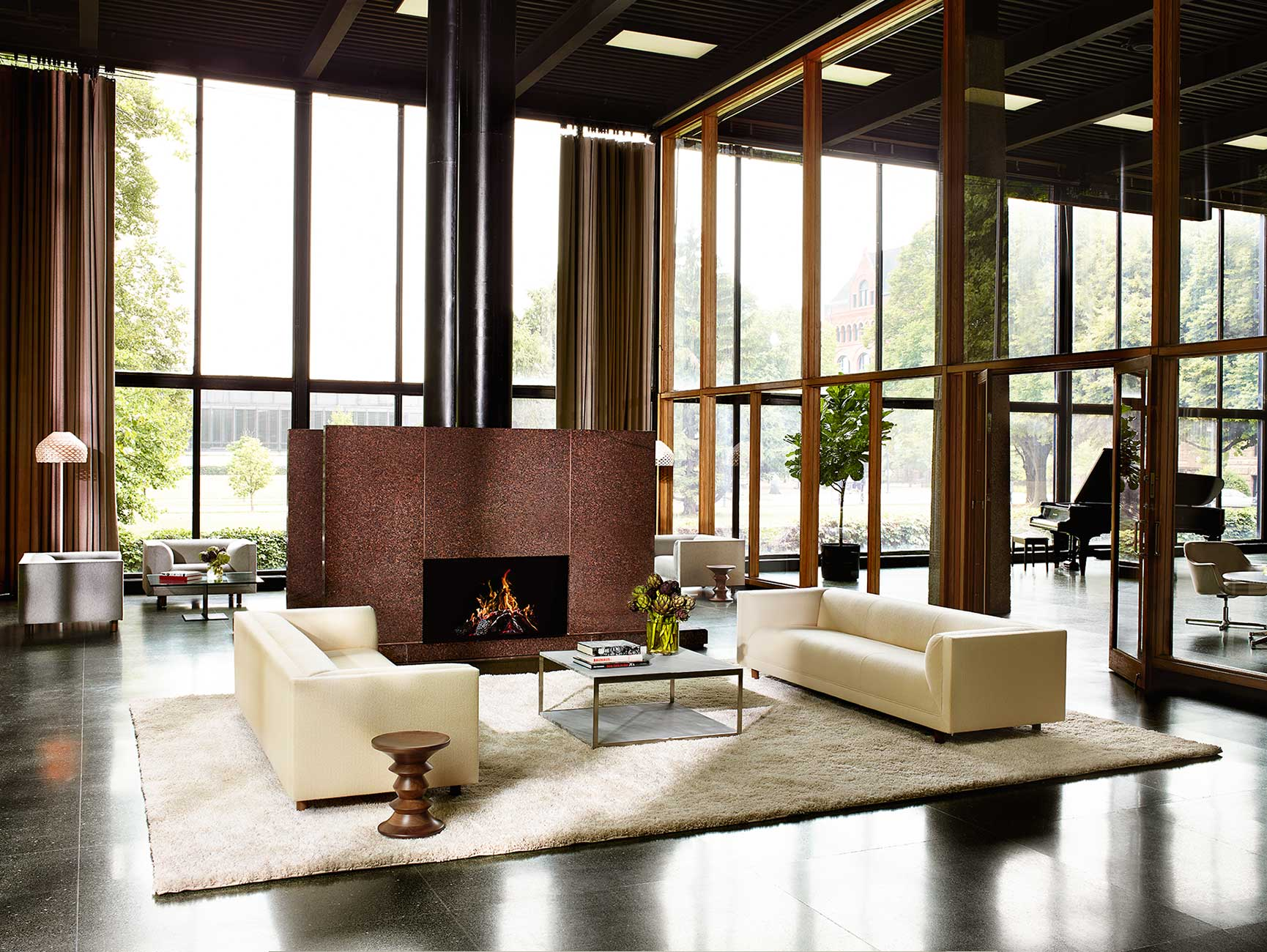 Living Lounge Interior Design feature