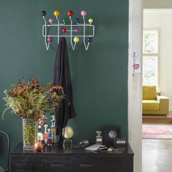 Eames Hang It All Multicolor Rack featured with other furniture