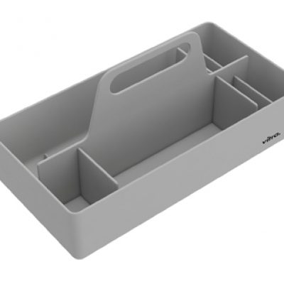 Toolbox utensil or object holder in grey