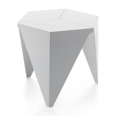 White Hexagonal Vitra Prismatic Table